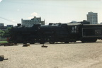Boston and Main 3713 @ Steamtown (Scranton, PA). Photo taken by John Lung, July 1989.