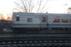 LIRR M-7 @ Woodside. Photo taken by Brian Weinberg, 1/20/2008.
