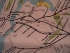 MTA Commuter Rail Map - 1984 - LIRR City Zone