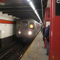NYCT R-68 2622 @ 47-50 Sts (D). Photo taken by Brian Weinberg, 2/16/2004.