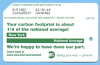 2008 Green MetroCard - Carbon Footprint