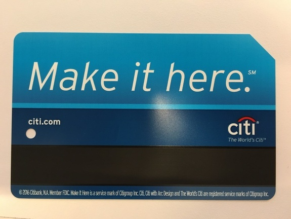 Citi Metrocard - You might not have a backyard. But the whole city is your playground. MAKE IT HERE.
