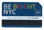 October 2012 GAP MetroCard 2-sided advertisement FRONT.jpg