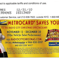 Radio City Christmas Spectacular 2009 Metrocard.png
