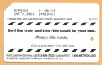 Safety Series: Surf the train and this ride could be your last. Always ride inside.