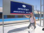 Israeli Railways Flexliner train @ Jerusalem - Malchah station. Photo taken 4/17/2005.