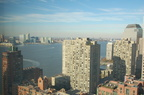 Battery Park City, the Hudson River, and New Jersey. Photo taken by Brian Weinberg, 12/3/2006.