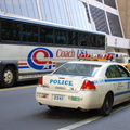 NYPD 2006 Impala police car @ 42 St & 6 Av. Photo taken by Brian Weinberg, 7/24/2006.