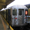 R-62A 2365 @ 242 St (9). The very last (9) train ever has completed its journey home. Photo taken by Brian Weinberg, 5/27/2005.