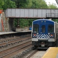 Metro-North Commuter Railroad M-7A @ Irvington (Hudson Line). Photo taken by Brian Weinberg, 5/17/2007.