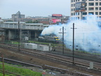 August 04, 2003 - Redbirds @ 45 Rd, Amtrak and LIRR (smokey) @ Sunnyside