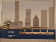 LIRR ESA display @ GCT. Detailed cross section looking west. Photo taken by Brian Weinberg, 12/18/2006.