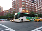 September 17, 2003 - Ave J station, a Peter Pan bus