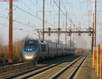 February 13, 2004 - NJT & Amtrak on the NEC @ Edison, NJ