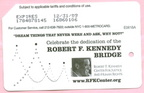 Celebrate the dedication of the Robert F. Kennedy Bridge